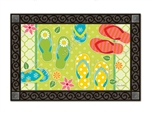 Hello Summer MatMates Decorative Doormat