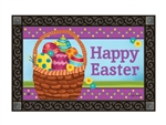 Basket Full of Eggs MatMates Decorative Doormat