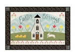 Easter Service MatMates Decorative Doormat
