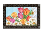 Fresh Tulips MatMates Decorative Doormat