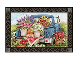Flower Pickin' Time MatMates Decorative Doormat