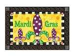 Mardi Gras Fun MatMates Decorative Doormat