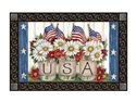 USA Mason Jar MatMates Decorative Doormat
