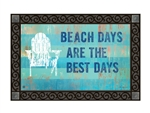 Beach Days MatMates Decorative Doormat