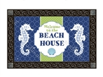 Seahorses MatMates Decorative Doormat