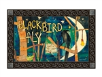 Blackbird MatMates Decorative Doormat