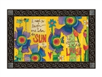 Good Day Sunshine MatMates Decorative Doormat