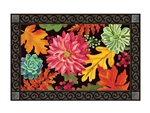 Vibrant Autumn Mix MatMates Decorative Doormat