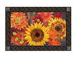 Autumn Toss MatMates Decorative Doormat