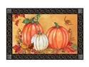 Traditional Pumpkin MatMates Decorative Doormat