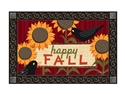 Scarecrow Rest Stop MatMates Decorative Doormat