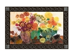 Fabulous Floral MatMates Decorative Doormat