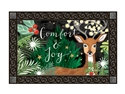 Comfort and Joy MatMates Decorative Doormat