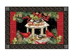 Christmas Dinner MatMates Decorative Doormat