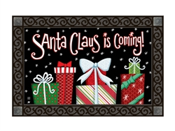 Santa Approved MatMates Decorative Doormat