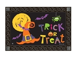Witches Halloween MatMates Decorative Doormat