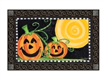 Halloween Is Here MatMates Decorative Doormat