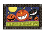 Halloween Smiles MatMates Decorative Doormat