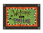 Spiders and Bats MatMates Decorative Doormat