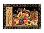 Harvest Blessings MatMates Decorative Doormat