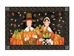 Pilgrim Thanksgiving MatMates Decorative Doormat