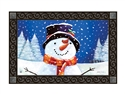 I Love Winter MatMates Decorative Doormat