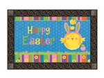 Easter Chicks MatMates Decorative Doormat