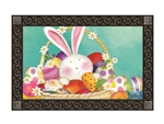 Easter Basket MatMates Decorative Doormat