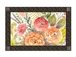 Fresh Flowers MatMates Decorative Doormat