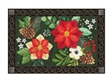Boho Christmas MatMates Decorative Doormat