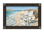 Beach Chairs MatMates Decorative Doormat