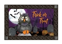 Moonlight Owl MatMates Decorative Doormat