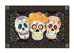 Sugar Skulls MatMates Decorative Doormat