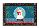 Snow Globe MatMates Decorative Doormat