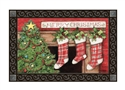 Christmas Tree MatMates Decorative Doormat
