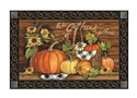 Harvest Gathering MatMates Decorative Doormat