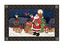 Hometown Santa MatMates Decorative Doormat
