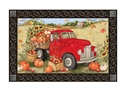 Pumpkin Delivery MatMates Decorative Doormat