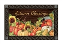 Autumn Scarecrow MatMates Decorative Doormat