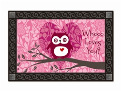 Who Loves You? MatMates Decorative Doormat