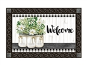 Farmhouse Daisies MatMates Decorative Doormat