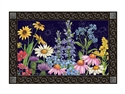 Wildflower Mix MatMates Decorative Doormat