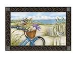 Beach Bike MatMates Decorative Doormat