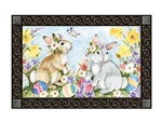 Easter Visit MatMates Decorative Doormat