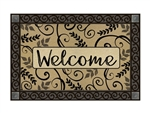Leafy Welcome MatMates Decorative Doormat