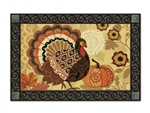 Turkey Time MatMates Doormat Jennifer Brinley