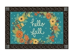Fall Greeting MatMates Decorative Doormat