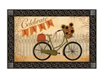 Celebrate Fall MatMates Decorative Doormat