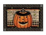 Happy Halloween MatMates Decorative Doormat
