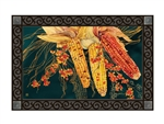 Autumn Corn MatMates Decorative Doormat